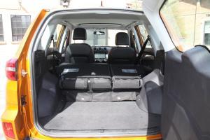 凯翼X3行李箱空间图片