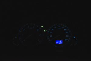 昌河M50 仪表盘背光显示