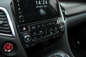 冠道中控台空调控制键
