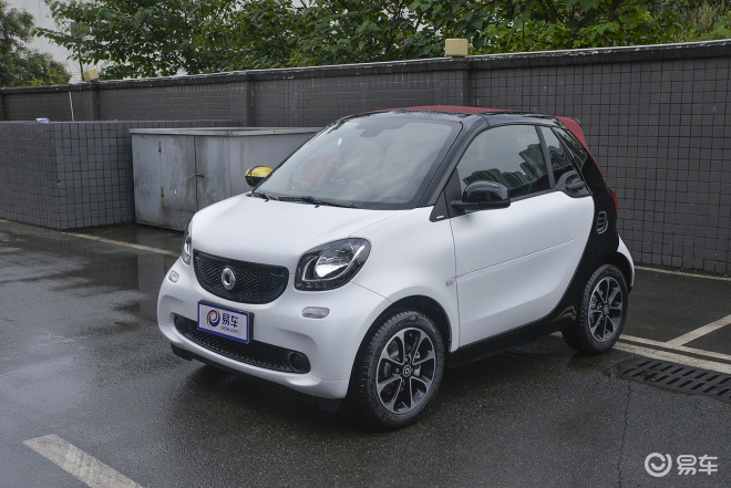 smart fortwo 外观