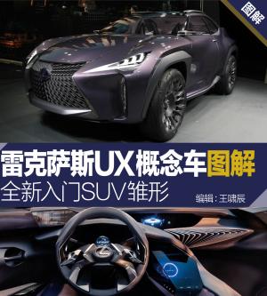 雷克萨斯UX概念车图片