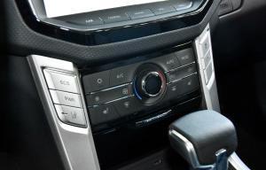 上汽大通T60 中控台空调控制键