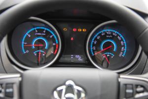 长安睿行S50 仪表盘背光显示