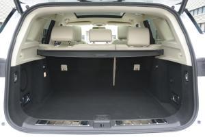 众泰T700行李箱空间图片