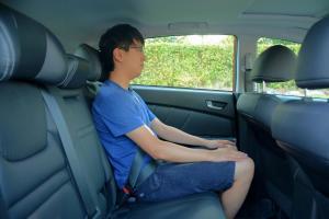 优6 SUV后排空间图片