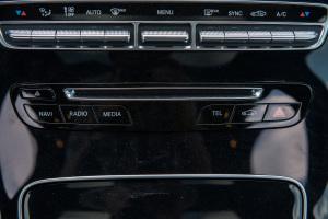 C级中控台音响控制键
