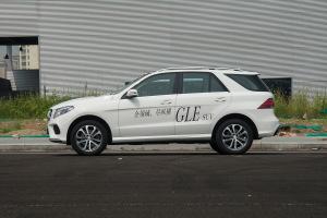 GLE级正侧车头向左水平