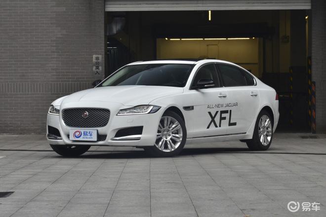 捷豹XFLXFL侧前45度车头向左水平