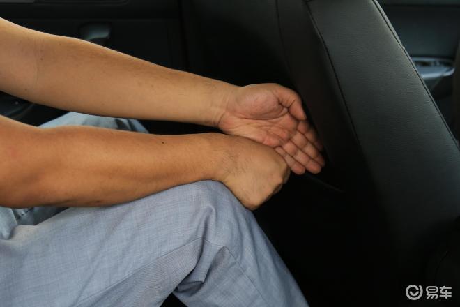 桑塔纳桑塔纳后排腿部空间体验