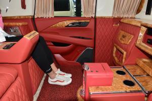 凯迪拉克总统一号(进口)后排腿部空间体验图片