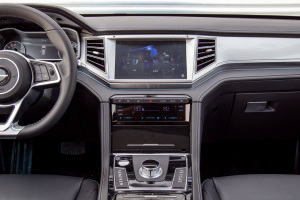 大迈X7中控台整体图片