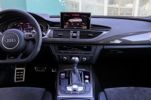 奥迪RS 7中控台整体图片