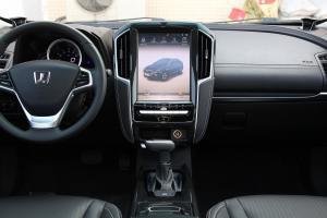 优6 SUV中控台整体图片