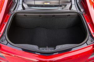 讴歌NSX后排腿部空间体验图片
