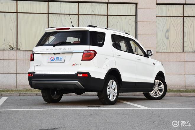 长安欧尚CX70长安欧尚CX70侧后45度车头向右水平