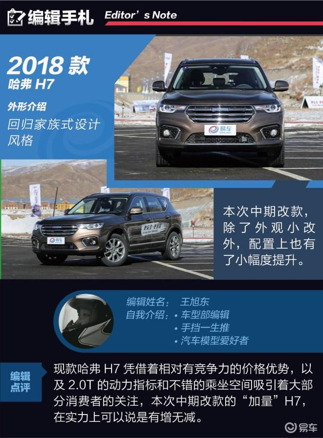 抢先试驾2018款哈弗H7 SUV中数它最懂你