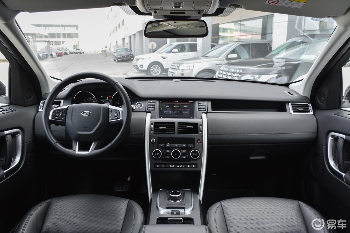 【发现神行2018款240ps hse侧前45度车头向左水平汽车