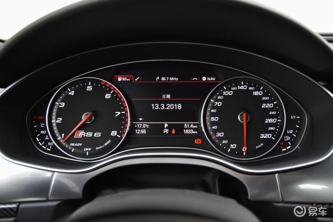 奥迪RS 6RS 6仪表盘