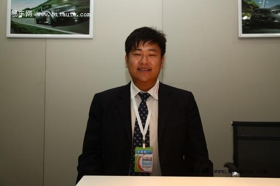 全系车型参展 专访聚金店销售主管李承晓