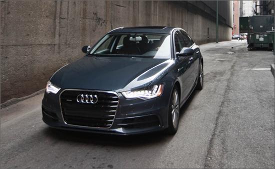 2012款奥迪A6 3.0T海外试驾 更运动更省油