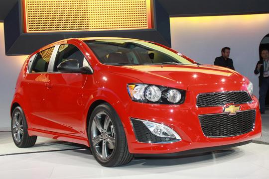 2012北美国际车展 雪佛兰Sonic RS发布