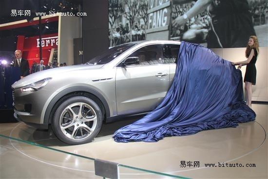 北京车展玛莎拉蒂两款新车首次亮相