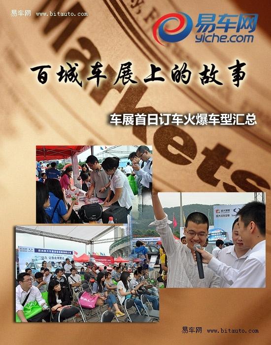 易车百城车展杭州站首日热销车型汇总