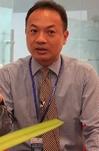 2013年重庆车展 访进口三菱王国辉