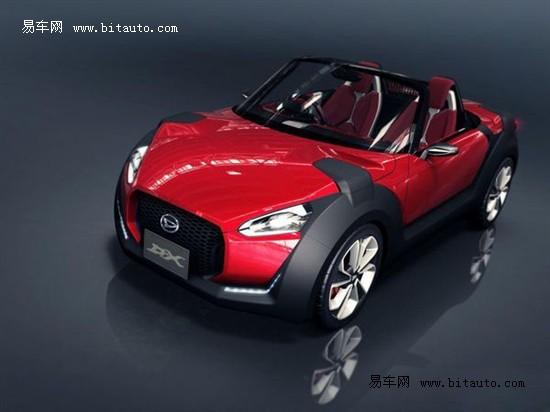 环保小型车 大发东京车展推出三款概念车