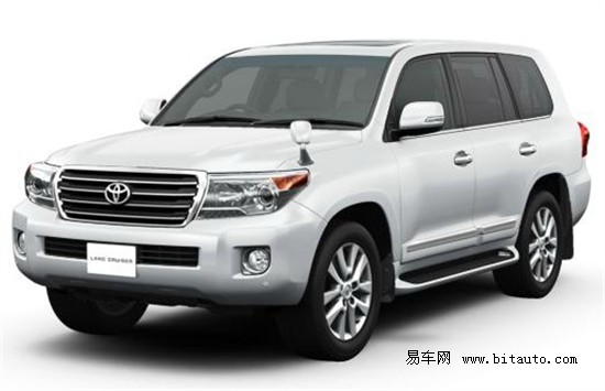 丰田全新兰德酷路泽亮相 改用4.6升发动机