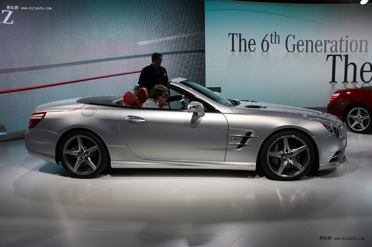 设计与slk接近 2013款奔驰sl亮相底特律