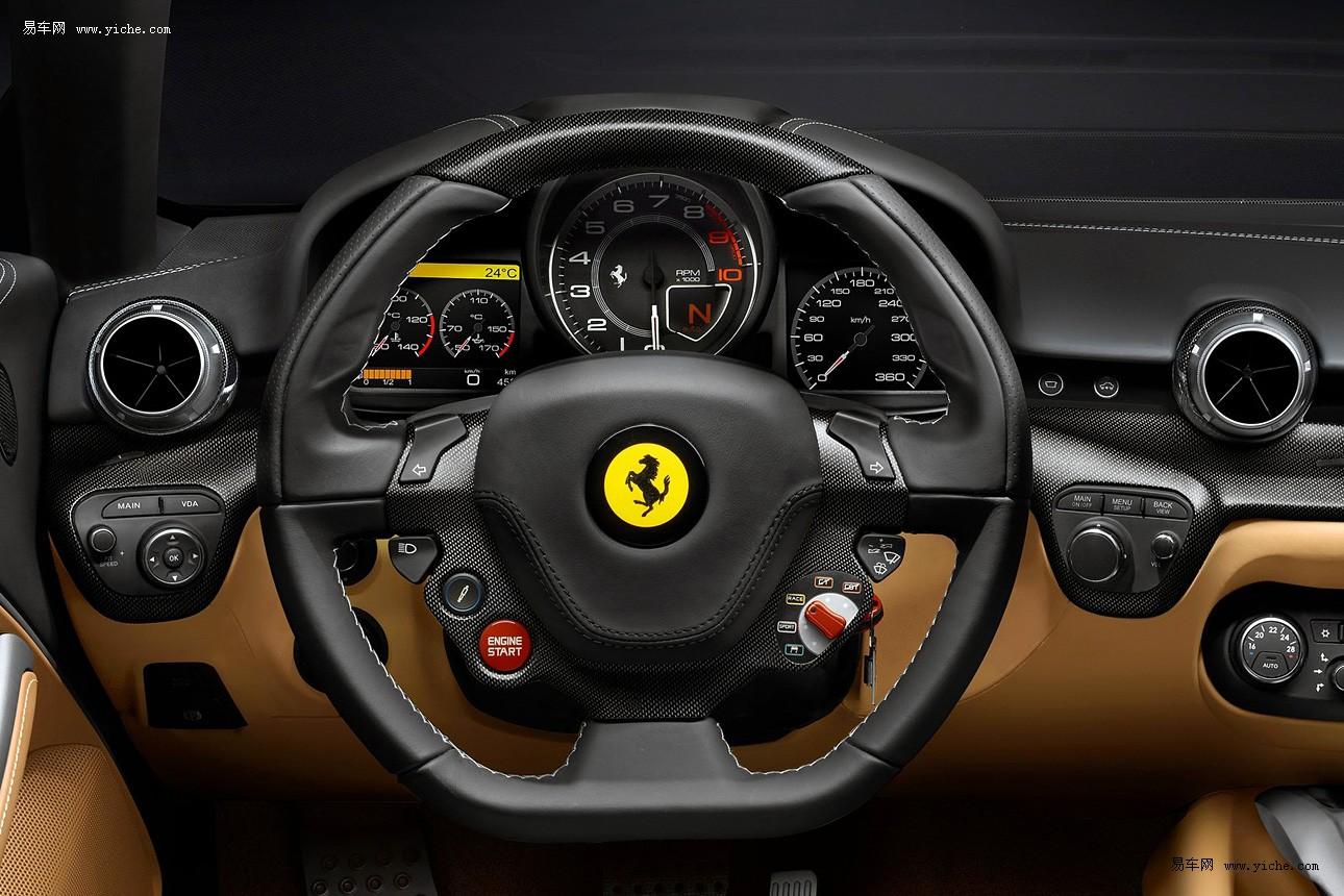 法拉利12缸跑车f12berlinetta高清图片