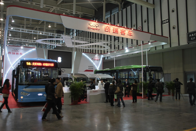 奇瑞客车首次参展国际客车展喜获行业大奖高清图片