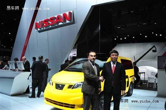 日产NV200未来出租车将亮相北京车展