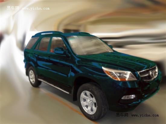 广汽吉奥展出两款新车 GX5首发亮相
