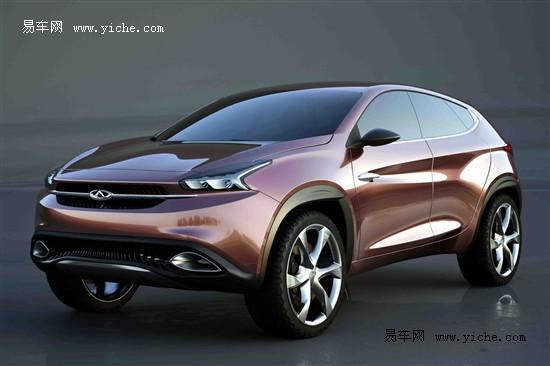 奇瑞tx概念车官图 奇瑞汽车新车规划 2016年将推全新suv