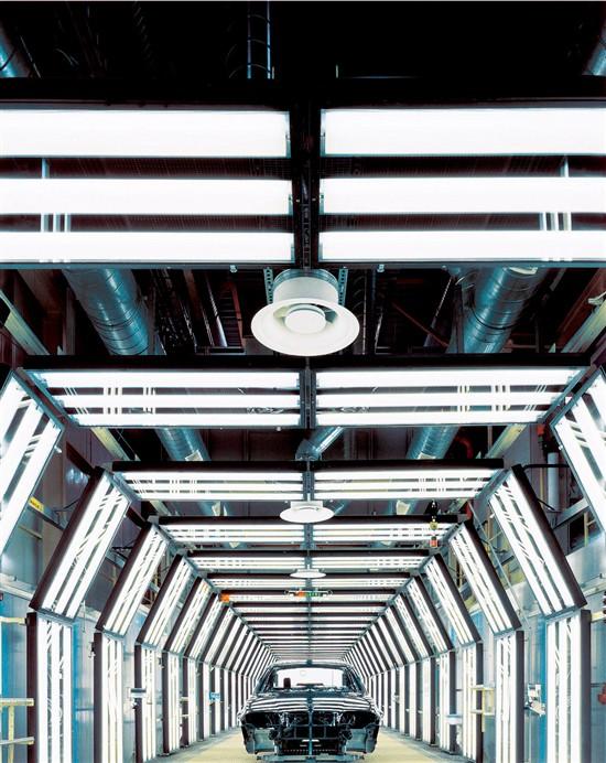 智能可调照明系统 满足客户柔性可调生产线工艺要求