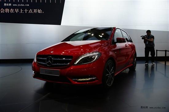 奔驰B级北京车展首发 内外全面升级