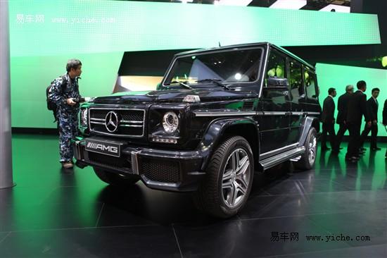 奔驰G63AMG和G65AMG亮相北京车展
