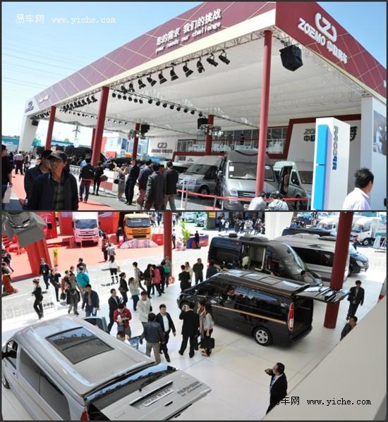2012北京国际车展中欧房车火爆销售现场