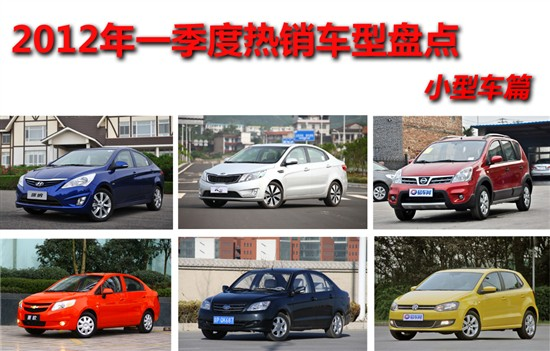 2012年一季度热销车型盘点 小型车篇