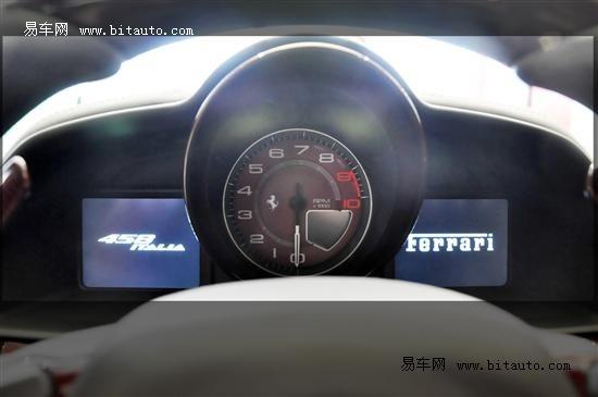 实拍法拉利458龙年限量版 高清图片