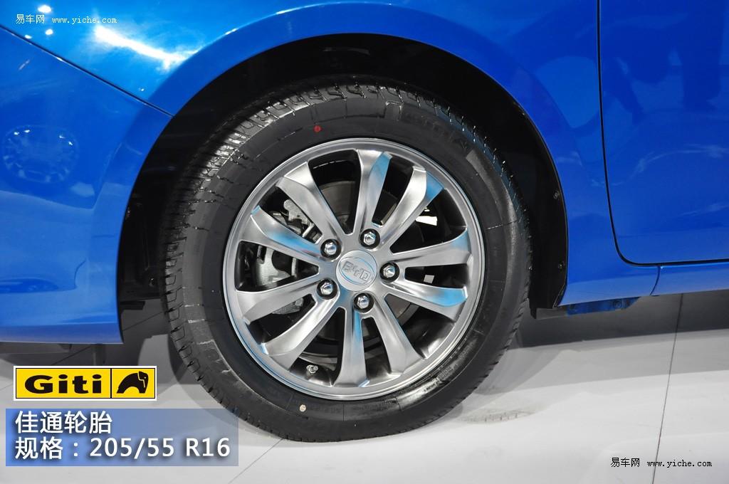 自主品牌重点新车轮胎调查:比亚迪f3速锐图片