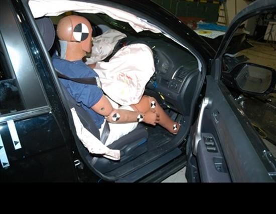 E-NCAP碰撞成绩 2007款本田CR-V获四星