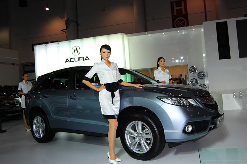 讴歌携全系车型亮相2012海西汽车博览会高清图片