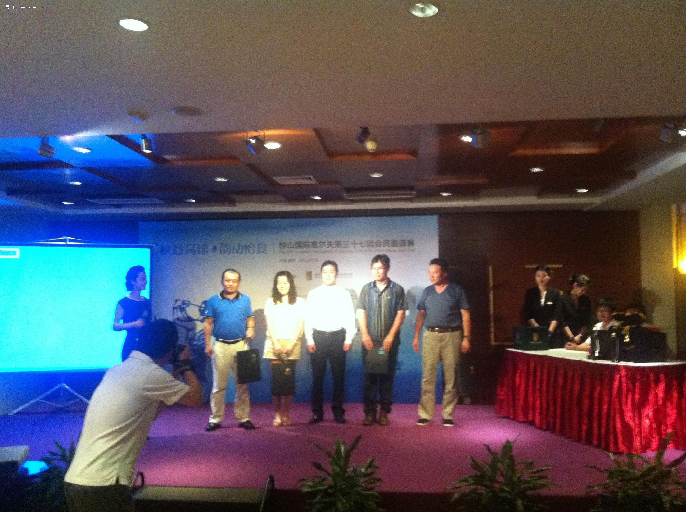 南京中捷钟山国际高尔夫活动展出