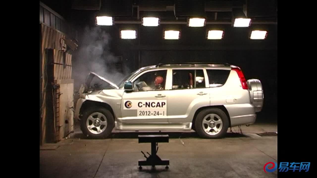 新猎豹CS6 C-NCAP碰撞测试仅获四星