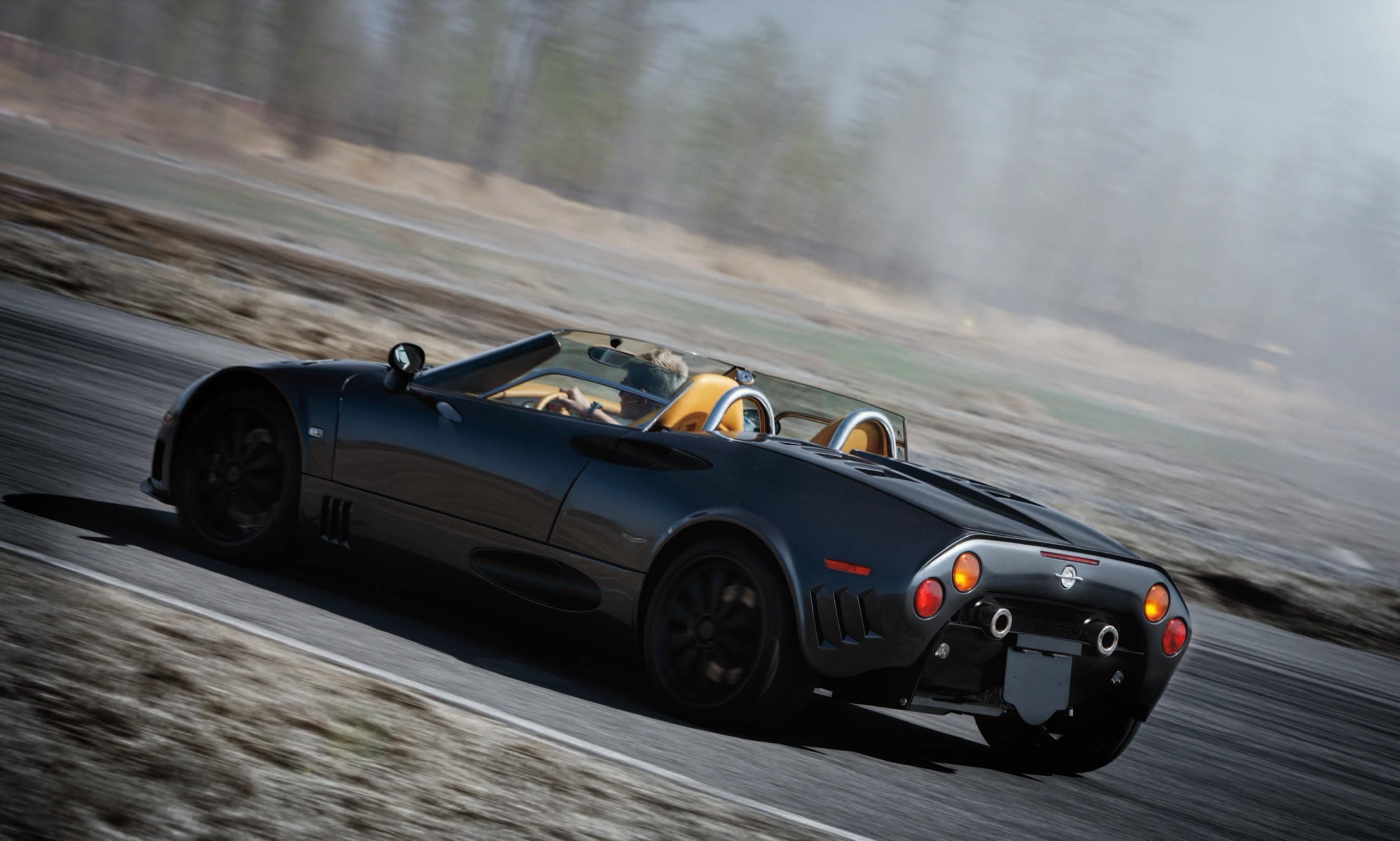 对比试驾五款高性能跑车