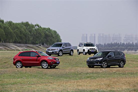 谁是佼佼者 四款紧凑型SUV展开和谐竞争
