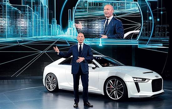 奥迪Q5 hybrid为首试驾体验 科技塑造未来
